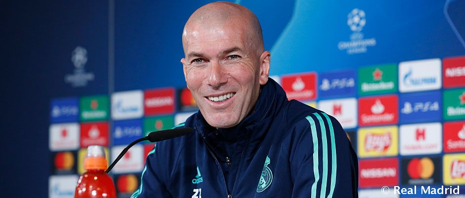 """Zidane: """"Büszkévé akarjuk tenni a szurkolóinkat"""""""
