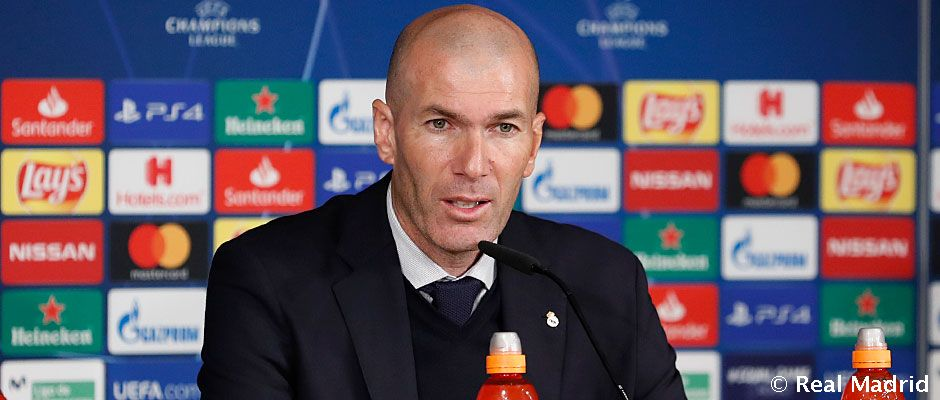 """Zidane: """"Ha folytatni akarjuk, nyernünk kell idegenben"""""""
