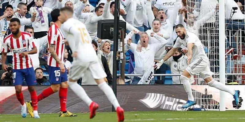 Az Atlético Madrid elleni meccs legjobb fotói