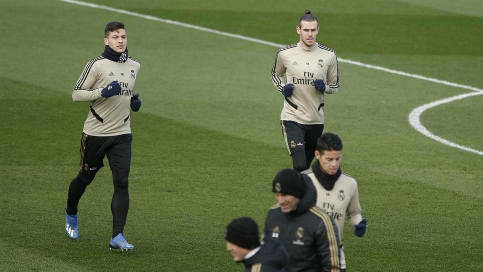 Bale és Jovic nélkül zajlott a szerdai edzés
