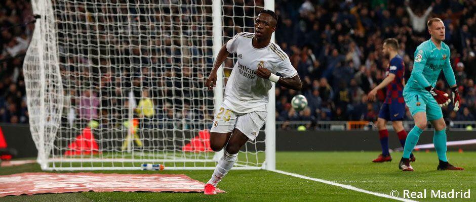 """Vinicius: """"Ez volt az eddigi legjobb estém a Real Madrid játékosaként"""""""