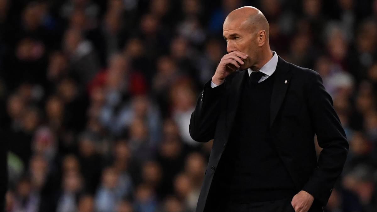 Zidane sosem bukott el három meccset egymás után