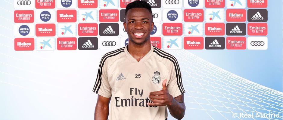 """Vinicius Jr.: """"Ideje keményen edzenünk"""""""