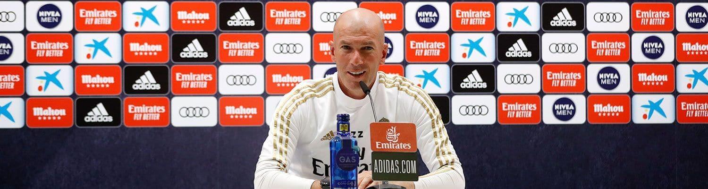 """Zidane: """"Mindent meg fogunk tenni a győzelemért"""""""