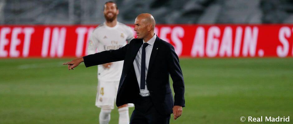 Zidane a klub történelmének második legtöbb győzelmét szerző edzője