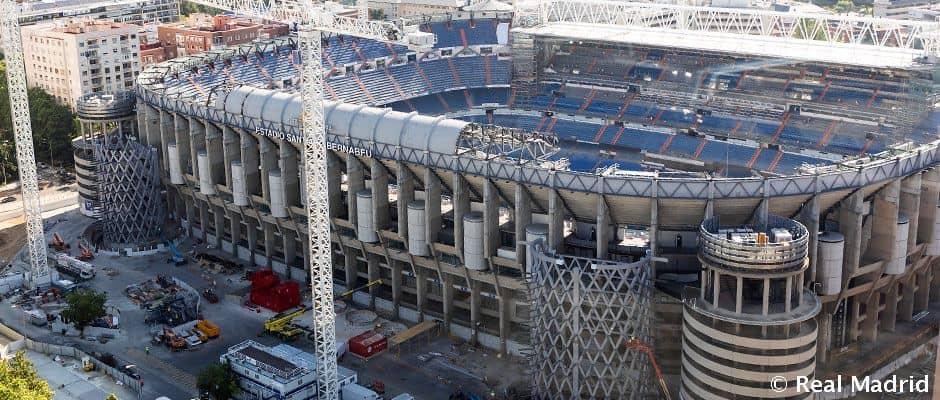 VIDEÓ: Pörög a Bernabéu felújítása (+ képek)