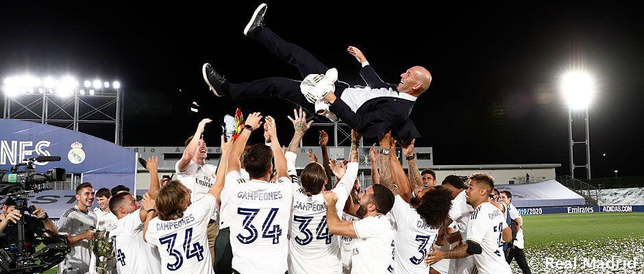 Zidane: Tizenegy trófea a csapat edzőjeként