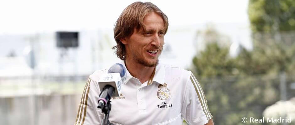 """Modric: """"Ez a csapat mindig nyerni akar"""""""