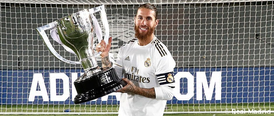 """Ramos: """"Szeretném itt befejezni a pályafutásomat"""""""