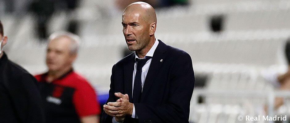 """Zidane: """"Ez a döntetlen nem jelent sokat"""""""