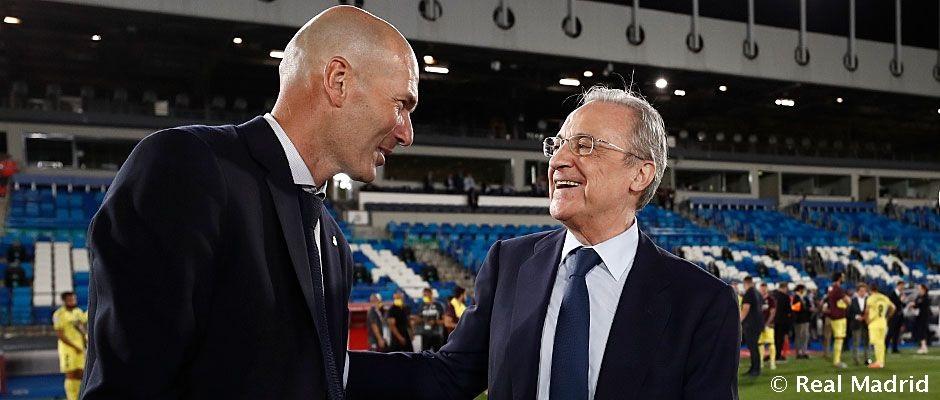 """Pérez: """"Zidane isteni ajándék, Ramos élete végéig velünk marad"""""""