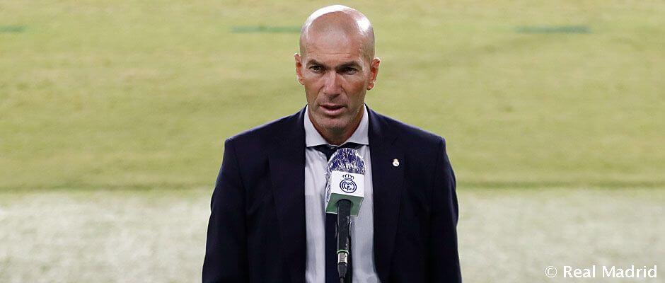 """Zidane: """"Három fontos pontot szereztünk egy nehéz helyszínen"""""""