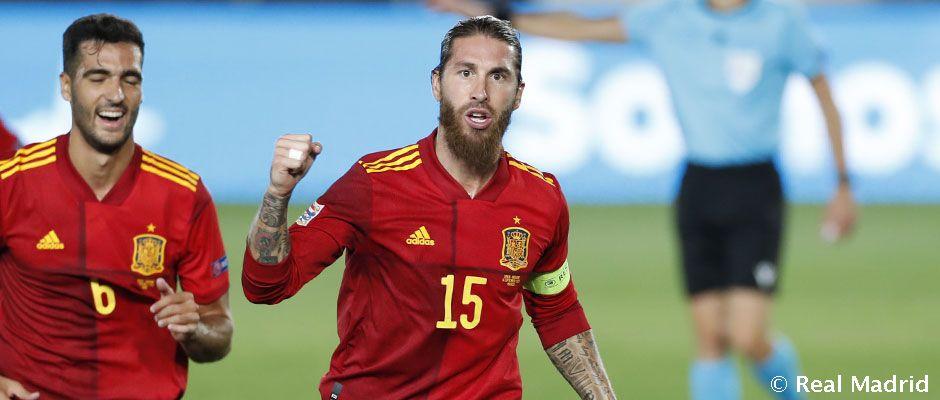 Ramos a válogatottban is tovább írja a történelmet
