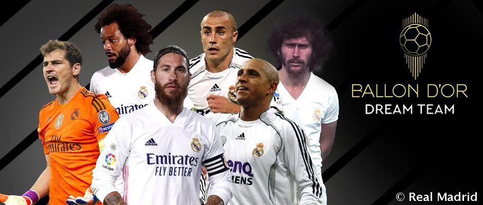 Több madridista is ott van a France Football Álomcsapatában