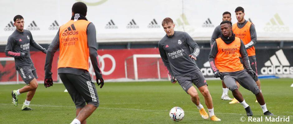 Real Madrid – Alavés: A meccs előtti utolsó edzés képekben