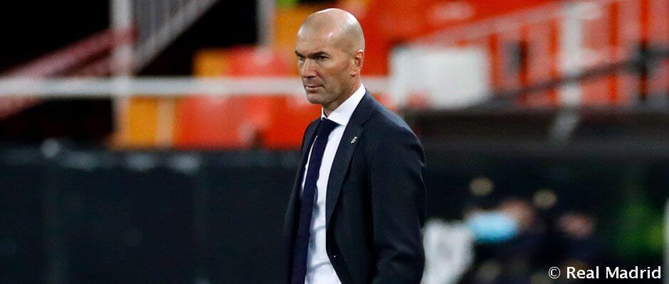 Zidane lett a második legtöbb bajnoki mérkőzéssel rendelkező Real-edző