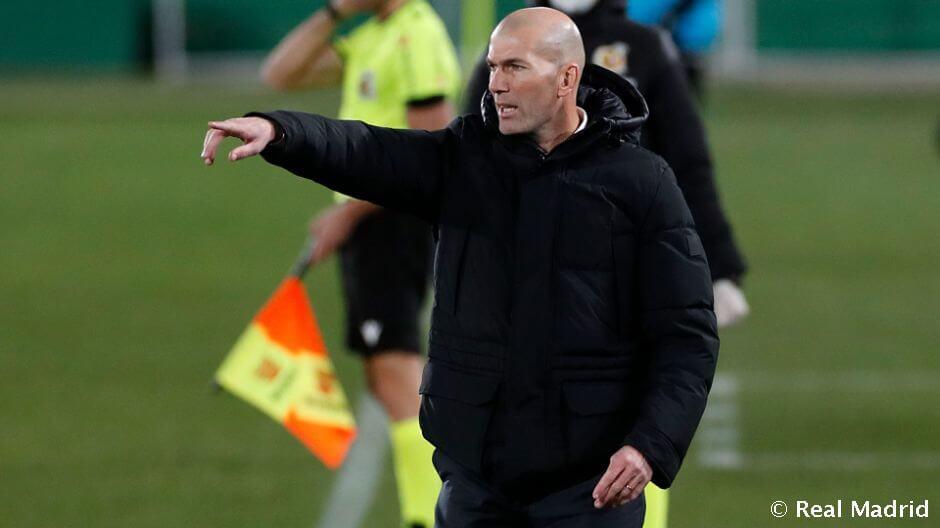 """Zidane: """"Nagyon hosszú a szezon, és messze még a vége"""""""