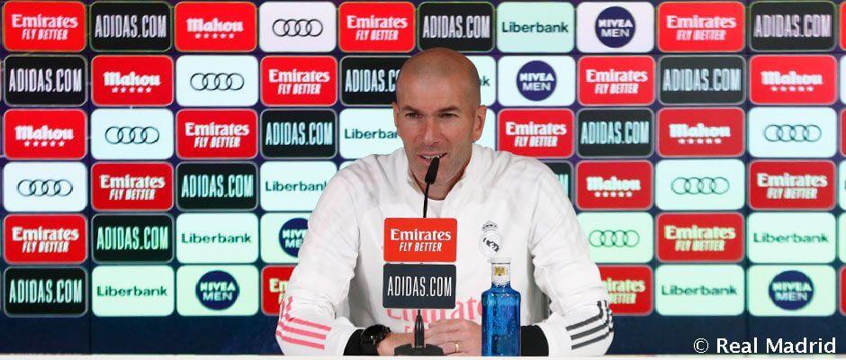 "Zidane: ""Simeone egy fantasztikus edző"""