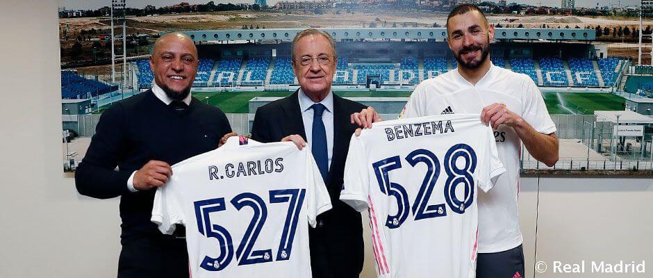 Benzema megelőzte Roberto Carlost