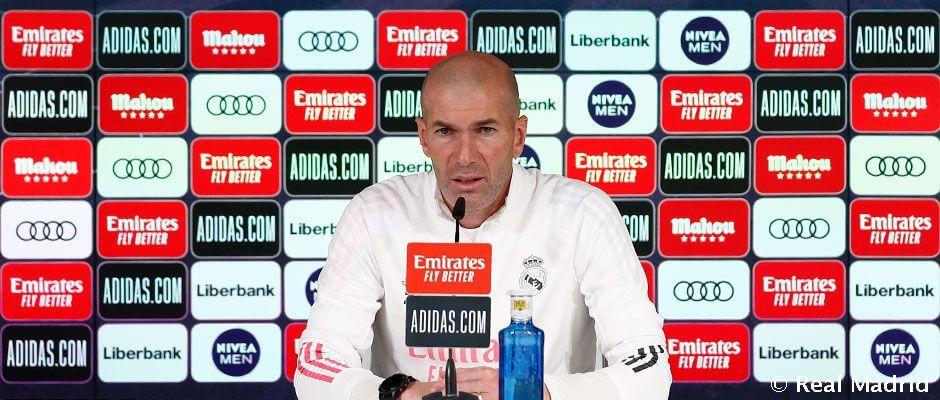 """Zidane: """"A lehető legjobban akarom végezni a munkámat"""""""