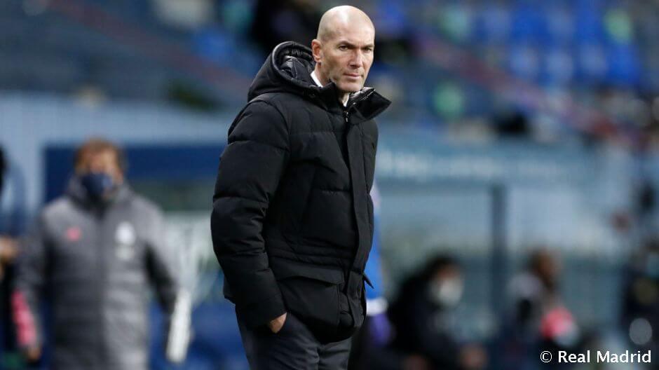 """Zidane: """"Igyekezett a csapat, de nem találtuk az egyenlítő gólt"""""""