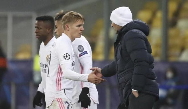 Zidane nem engedi Ödegaardot sehova