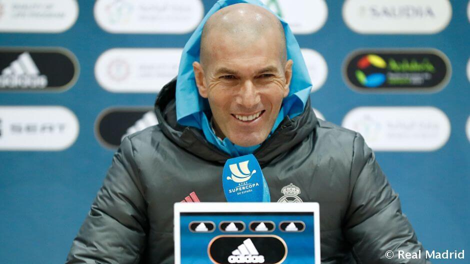 """Zidane: """"Megpróbáljuk a legjobb formánkat hozni a Bilbao ellen"""""""