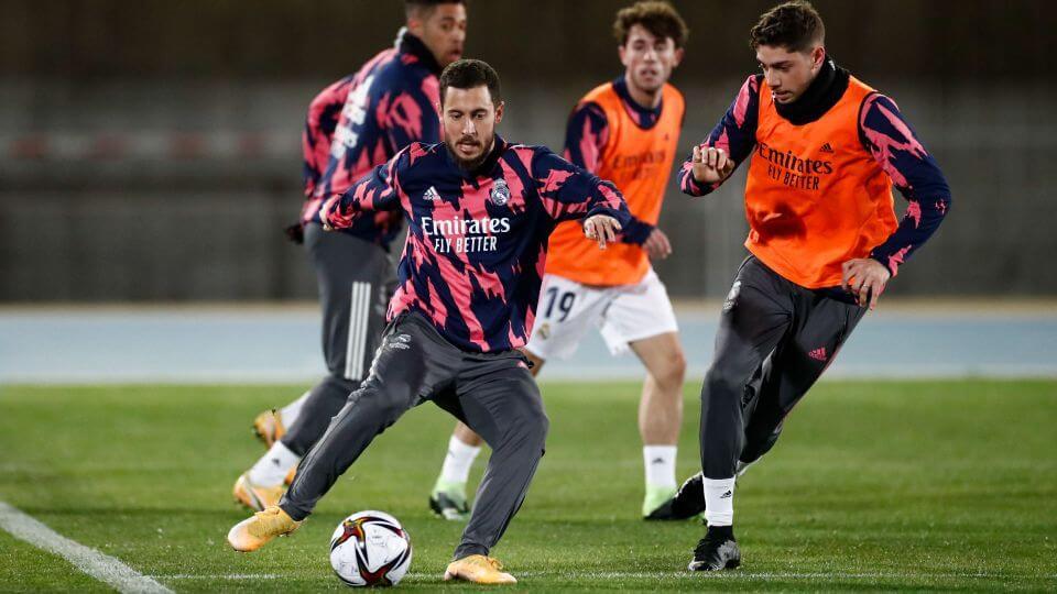 GALÉRIA: A Real Madrid már Malagában készül a Szuperkupa elődöntőjére
