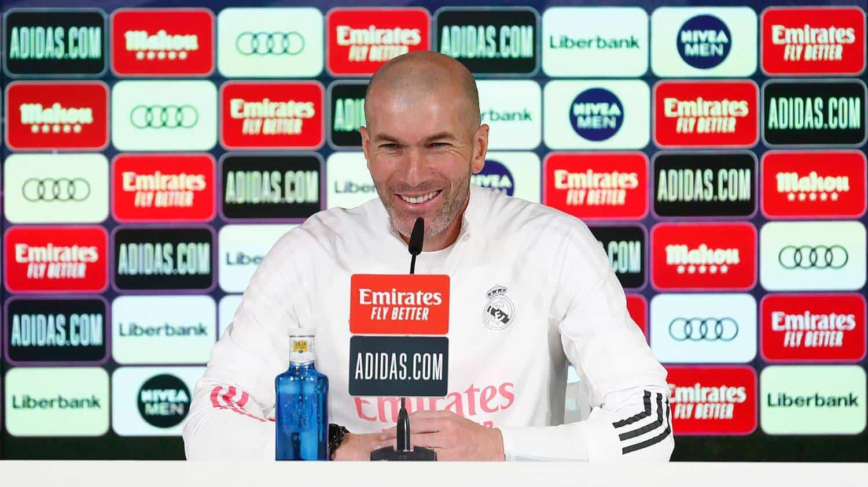 """Zidane: """"Normálisan készülünk a meccsre, aztán meglátjuk, mi lesz"""""""