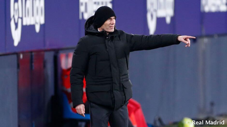 Zidane: El kellett volna halasztani a mérkőzést