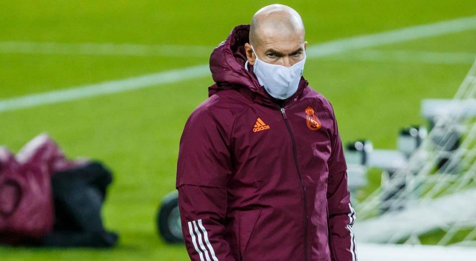 Zidane nem biztos, hogy ott lesz az Osasuna ellen a kispadon