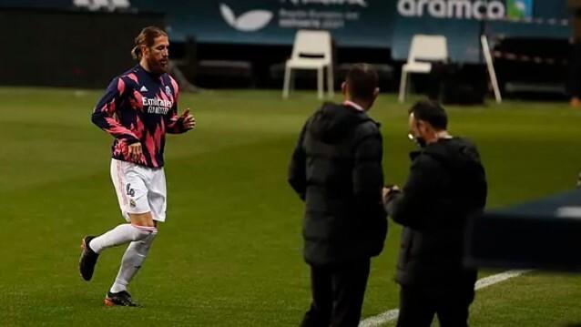 Ramos sérülten játszott tegnap este