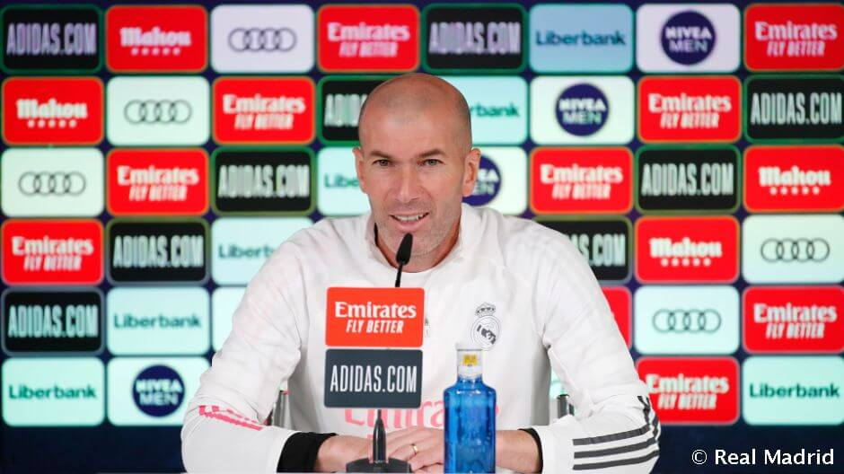 """Zidane: """"Szeretnénk visszatérni a legjobb formánkhoz"""""""