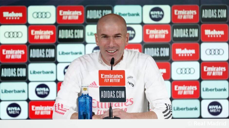 """Zidane: """"Sokat fog követelni tőlünk a Valencia elleni mérkőzés"""""""