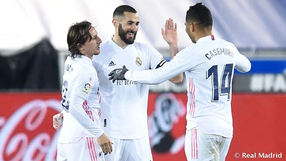 Hivatalos kezdőcsapat: Real Madrid – Getafe