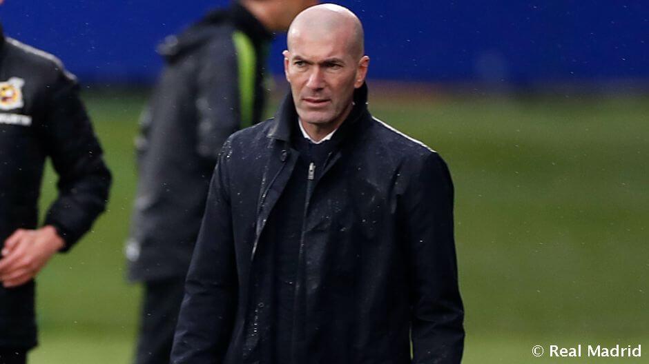 """Zidane: """"Nagyon örülnünk kell annak, amit ma elértünk"""""""