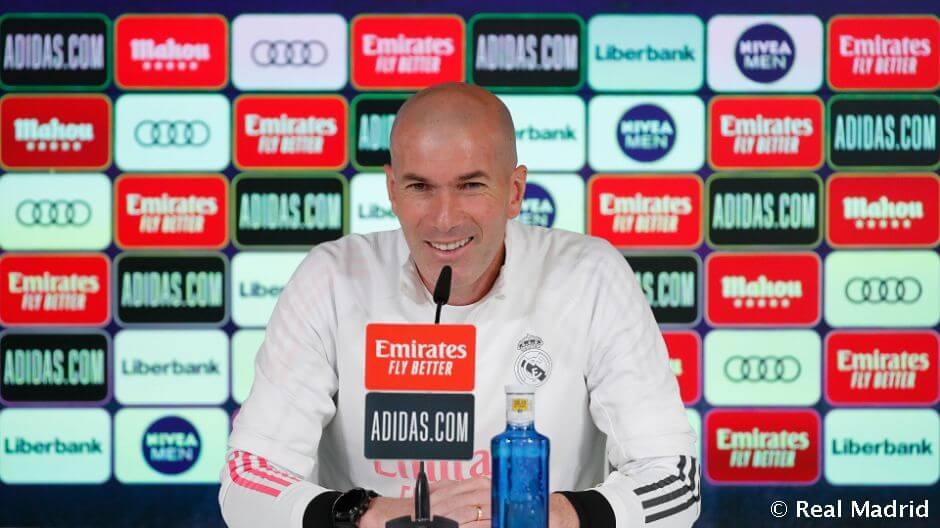 """Zidane: """"Hiba lenne már most a Bajnokok Ligája meccsre gondolni"""""""
