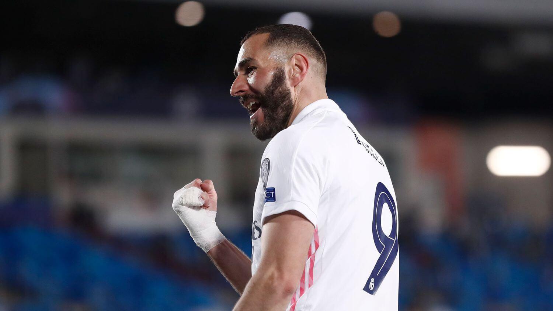 Benzema madridi pályafutásának legjobb szériájában jár