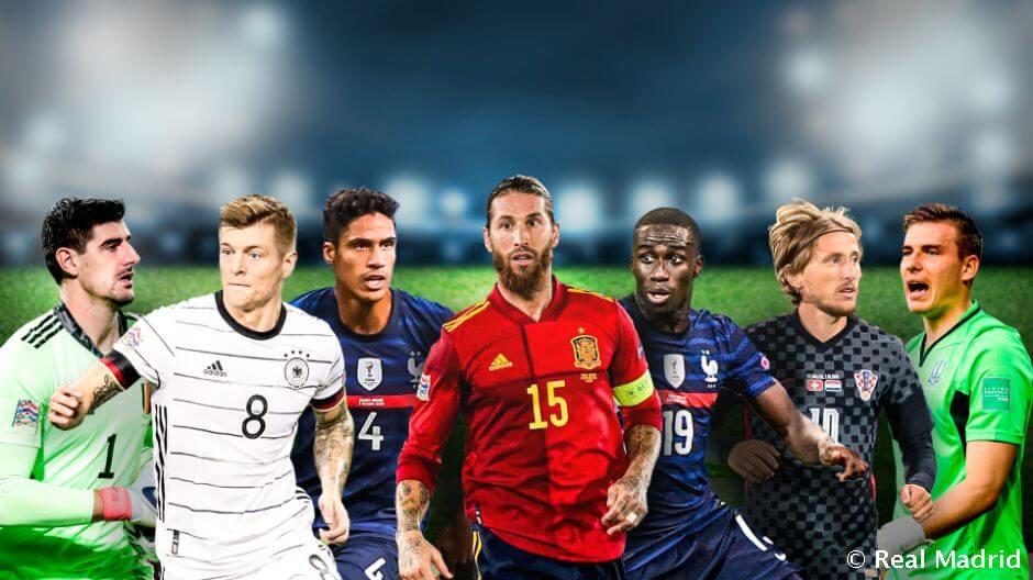 Íme a Real Madrid játékosainak válogatott mérkőzései