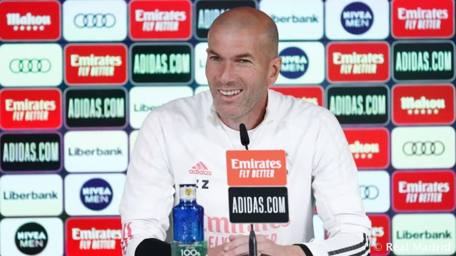"""Zidane: """"Furcsa ez a szezon, de nem panaszkodhatunk"""""""