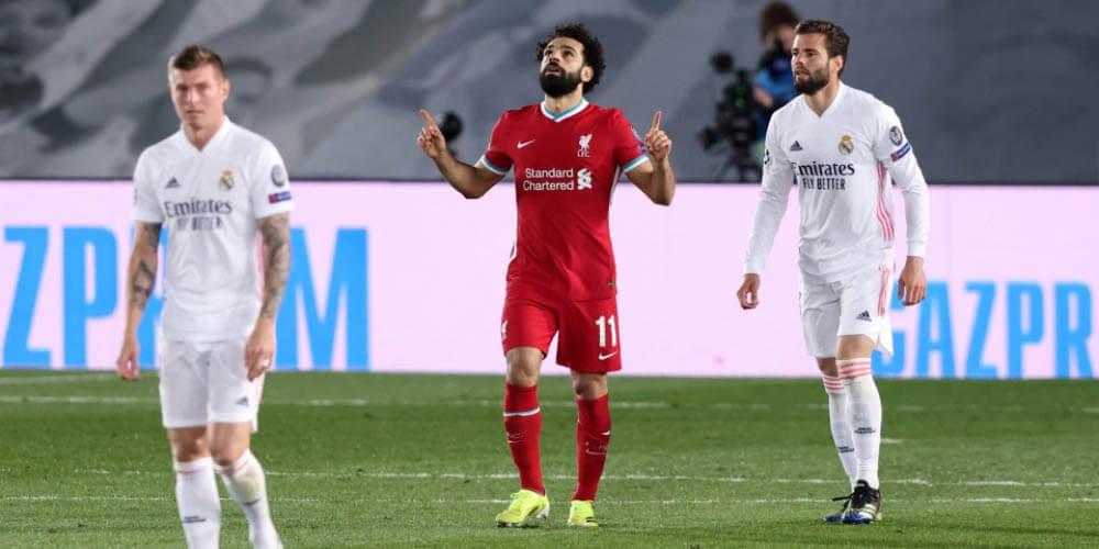 Nacho vs Salah, Liverpool - Real Madrid, Anfield Road