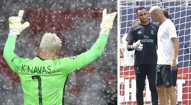 """Leboeuf: """"Zidane nem akarta, hogy Keylor Navas elhagyja a Real Madridot"""""""