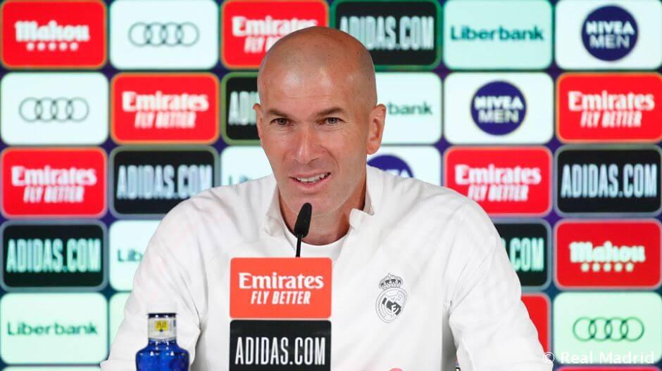 """Zidane: """"Senki sem hibáztatható Ramos sérülése miatt"""""""