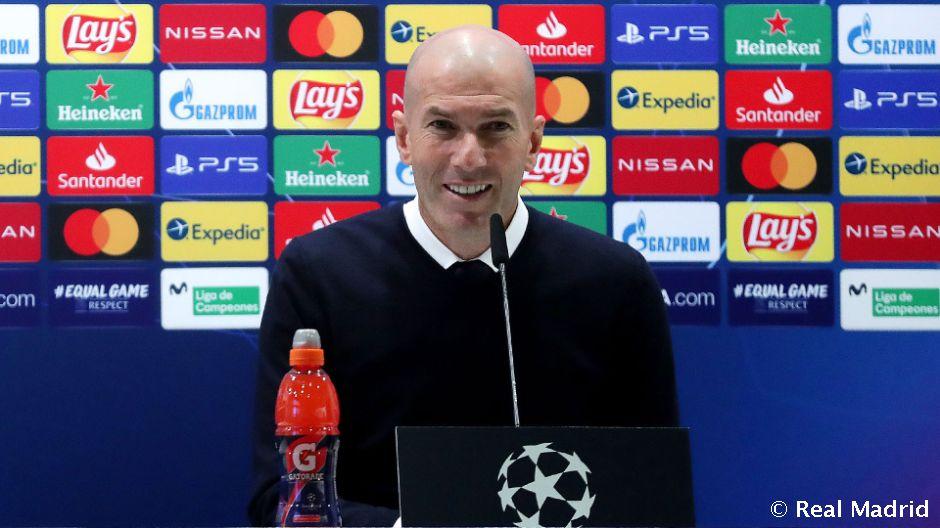 """Zidane: """"Úgy megyünk a visszavágóra, hogy gólokat kell szerezzünk és megpróbáljuk megnyerni a mérkőzést"""""""