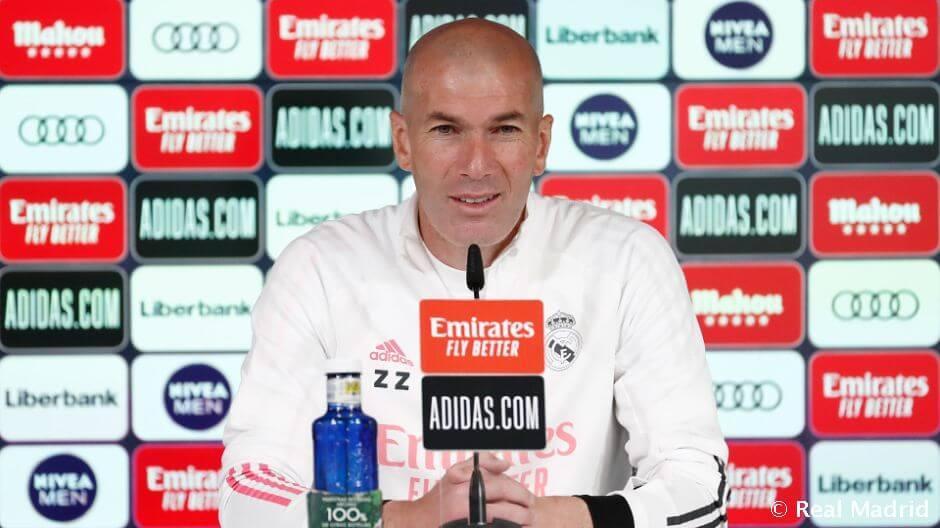 """Zidane: """"Ramos készen áll a visszatérésre"""""""