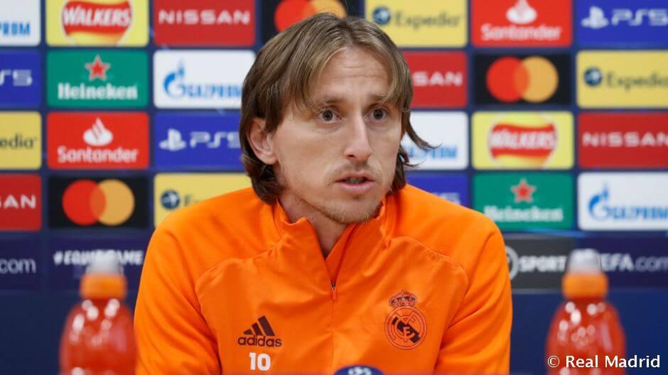 Modric: A győzelemért kell játszanunk, nem pedig az eredmény megtartásáért