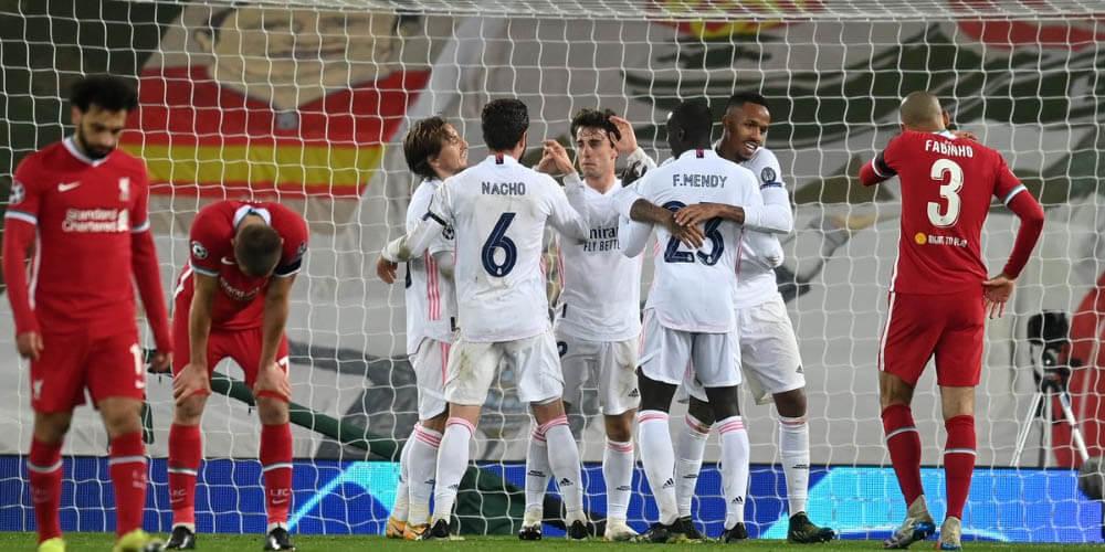 Real Madrid továbbjutás az Anfield Roadon