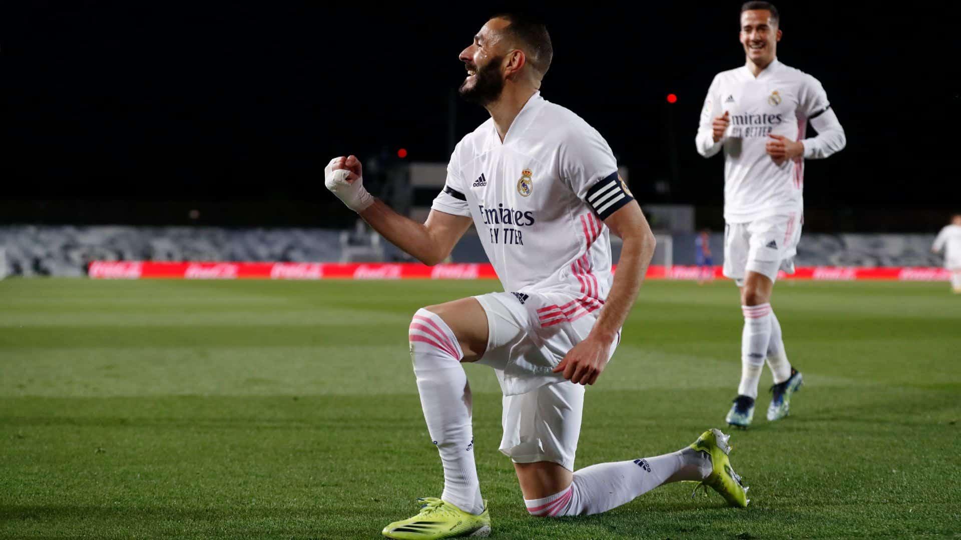 Benzema zsinórban hetedik bajnoki meccsén eredményes
