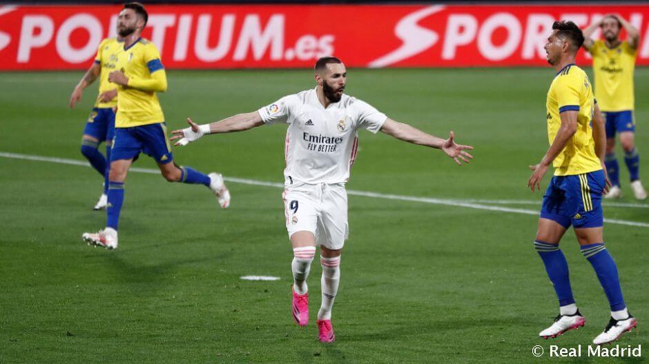 Karim Benzema minden bajnoki ellenfelének gólt tudott lőni