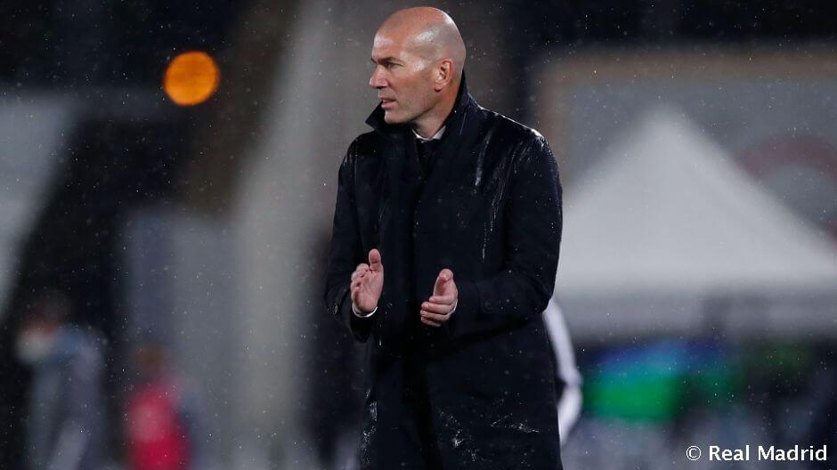"""Zidane: """"Nehezen találtuk a ritmust"""""""